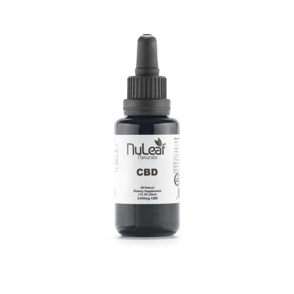 Product image - NuLeaf Naturals CBD Bottle